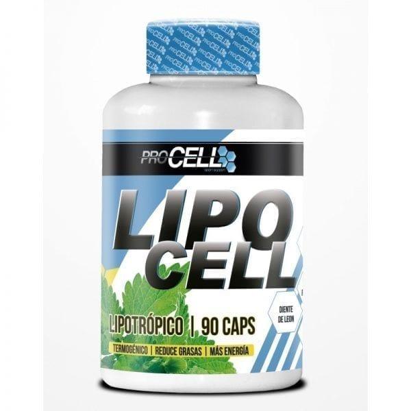 Lipocell 120 cápsulas