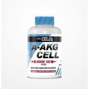 A-AKG CELL arginina 120 cápsulas