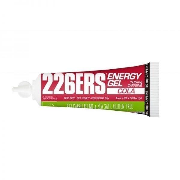 GEL ENERGÉTICO BIO cola 25 gr cafeína 100 mg