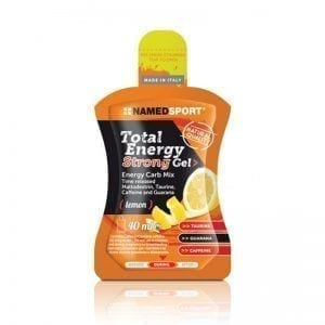 Total Energy Strong Gel Lemon 40ml